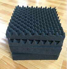 Acoustic Wave Foam Sound Absorption Treatment 6 PCS Convoluted Egg Foam Tile