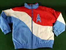 Vintage Houston Oilers APEX ONE by Pro Line Jacket PUFFER SEWN LOGOS medium M