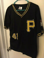 PITTSBURGH PIRATES RYAN DOUMIT #41 JERSEY - SGA - ADULT SMALL