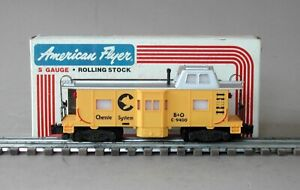 Lionel American Flyer 4-9400 Chessie System Bay Window Caboose