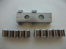 Motorcycle ClassicBike DOUBLE Crimper Petrol/Oil + 10 x Stainless Ferrules Bsa