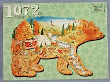 Silhouette Puzzle - Im Land der Bären - 1072 Teile