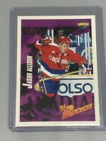 Jason Allison 1994-1995 Score Hockey Rookie RC #231 Washington Capitals