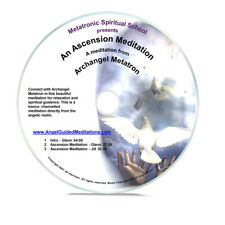 Angel Guided Meditation CD No 10 - AN ASCENSION MEDITATION - ARCHANGEL METATRON