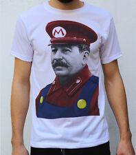 Stalin Mario Diseño T Shirt