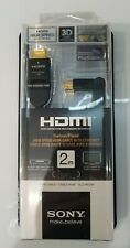 Sony Angled HDMI Cable 2 Mtr DLC-HE20H Swivel / Pivot connections ****NEW****