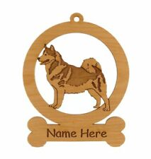 Alaskan Malamute Standing Ornament 081182 Personalized With Your Dog's Name