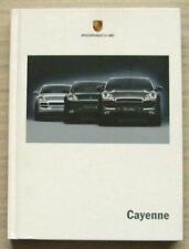 Porsche Cayenne Gama S & Turbo folleto de ventas de tapa dura 2004 #40832005 (06/04)