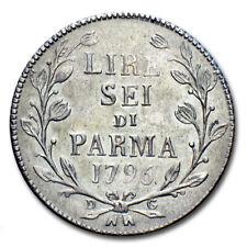 MORUZZI - FERDINANDO I 6 LIRE 1796 (137522) moneta in argento Ducato di Parma