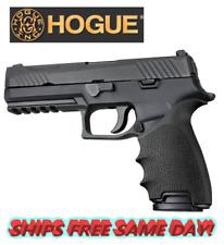 Hogue HandAll Beavertail Grip Sleeve -Sig Sauer P320 Full Size - Black # 17600