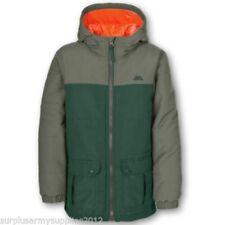 Manteaux, vestes et tenues de neige doudoune vert avec capuche pour garçon de 2 à 16 ans