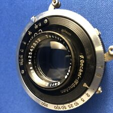 Carl Zeiss Jens 11.5cm F4.5 uncoated Tessar with compur shutter