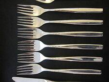 WMF 6 London Cromargan 6 Menügabel 19,5 cm 6 tlg Note 2 Besteck Gabel TOP !!!