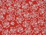Tenugui Cloth Japanese Fabric Cotton Towel Gauze Red Maneki Neko Beckoning Cat
