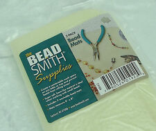 """2 BEADSMITH Bead Mats BM2 8x8"""" You'll Wonder How You Lived Without Them!"""
