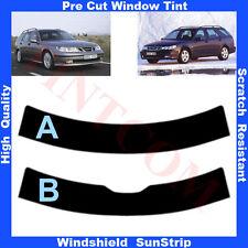 Pre Cut Window Tint Sunstrip for Saab 9-5 5 Doors Estate 1999-2006 Any Shade