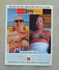 E575 - Advertising Pubblicità -1997- KODAK NUOVA PELLICOLA GOLD ULTRA 400