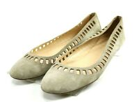 J. Crew Women's $90 Slip On Flats Shoes Made In Italy Size 9.5 Tan