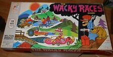 "Vintage 1969 Milton Bradley ""The Wacky Races"" Board Game -Dick Dastardly/Muttley"