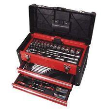 Kravm E09065 Valigia Cassettiera Completa di 104 Utensili Manuali in Cromo Vanad