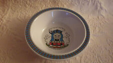 """Thomas Train Plastic Cereal Bowl 1992 DOES HAVE SOME WEAR & SCRATCHES 6.5"""" D."""