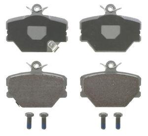 Semi-Metallic Brake Pads -WAGNER BRAKES MX1252- SEMI-MET BRAKE PADS
