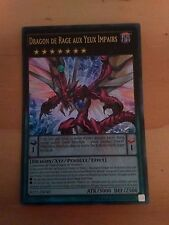 Carte Yu-Gi-Oh Dragon De Rage Aux Yeux Impairs