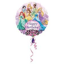 "Disney Princess Birthday Party Sing-a-Tune 28"" Round Foil Balloon"