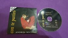 Con te partirò Andrea Bocelli press 1995 cd usato card sleeve Netherlands