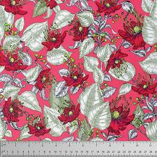 FreeSpirit STUDIO KM LE JARDIN 100% Cotton Fabric -MESA- £12.50 per M-Free P&P