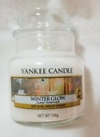 Yankee Candle WINTER GLOW 3.7 oz Classic Small Jar Baby White Fresh Warm Scent