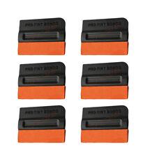 NEW 6PCS Pro-Tint Bondo Squeegee Decal Vinyl Film Wrapping Double Suede Felt AUS