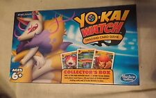 Yo-kai Watch Trading Card Game Collectors Box Kyubi Medal Yokai NEW