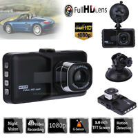"3.0"" LCD Car DVR Vehicle Dash Cam Camera Video Recorder Night Vision G-sensor"