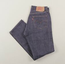 Vintage LEVI'S 501 Dark Blue Regular Straight Men's Jeans 34W 32L 34/32 /J22040