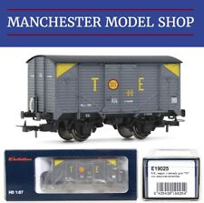 "Electrotren E19025 HO 1:87 R.N. wagon type J grey livery ""TE"" Era III NEW BOXED"