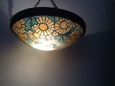 Vintage French Art Deco Style Flycatcher Ceiling Uplighter
