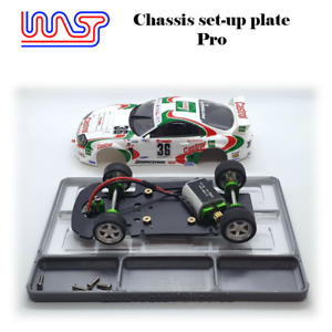 WASP slot car assembly setup plate & pro, chassis, scratch build, tools, 1/32