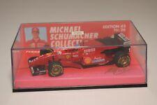 V 1:43 MINICHAMPS FERRARI F1 FORMULA 1 1996 F 310 MICHAEL SCHUMACHER MINT BOXED