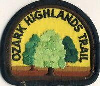 "Ozark Highlands Trail 3"" Patch MO Missouri Non Profit Scouting"