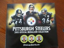 Pittsburgh Steelers, 2005 Official Medallion Collection Complete  Super Bowl XL