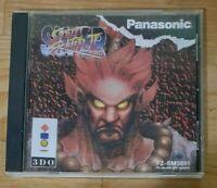 Super Street Fighter II (2) Turbo - w/ Case, Repro Cover Art - Panasonic 3DO