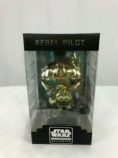 Star Wars Funko Pop Smugglers Bounty Exclusive Boss Gift Gold Rebel Pilot 2016