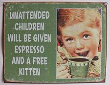 Cute Funny Tin Sign Vintage Wall Art Home Restaurant Kitchen Office Decor New