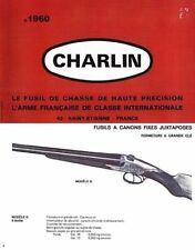 Charlin Le Fusil de Chasse c1960 Catalog