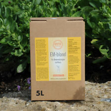 EM Blond 5 Liter Bodenverbesserung em a Bio Dünger Haustiere Pferde 1L/