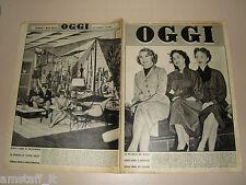 OGGI=1954/43=PAOLO STOPPA=DISCHI VOLANTI=BEPPE GUZZI=ALBERTO CHIARI=JUDY GARLAND
