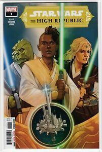 Marvel Comics Star Wars: High Republic #1 Introduction to Jedi Keeve Trennis