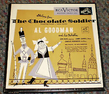 RCA Victor 45 rpm set The Chocolate Soldier Al Goodman, Ayars, Carroll