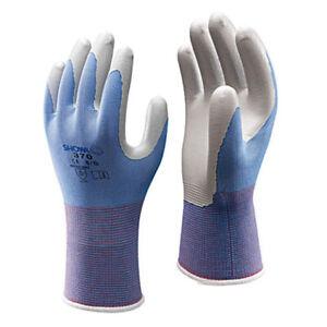 1 x Pair Showa Lightweight Breathable Nitrile Garden Good Grip Gloves(370FLOREO)